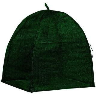 "Nuvue 20250 Winter Shrub Cover, 22"" x 22"" x 24"", Green"
