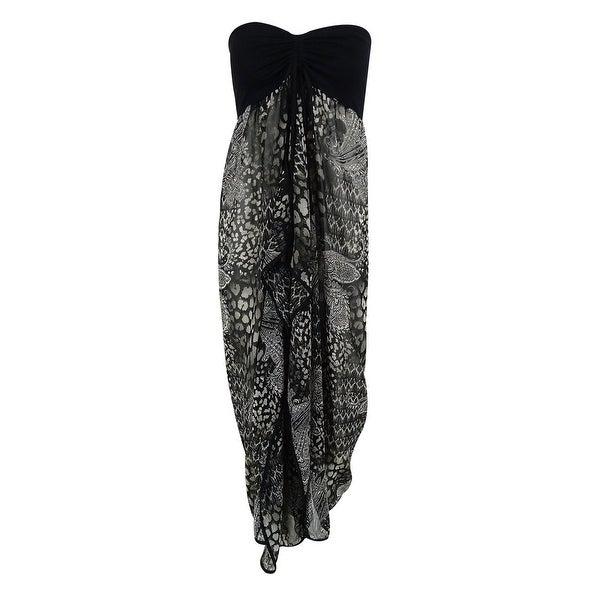 Raviya Women's Strapless Coverup Dress