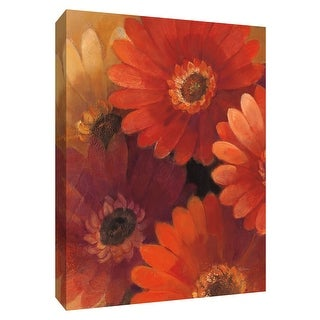 "PTM Images 9-154549  PTM Canvas Collection 10"" x 8"" - ""Garden of Gerberas II"" Giclee Flowers Art Print on Canvas"