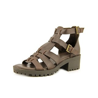 Mia Arena Open Toe Leather Gladiator Sandal