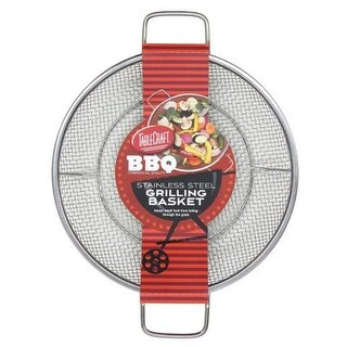 TableCraft TCT10218 BBQ Round Grilling Basket