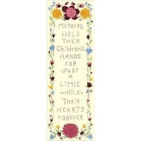 "7""X19"" Stitched In Floss - Hearts Forever Stamped Embroidery Kit"