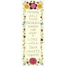 """7""""X19"""" Stitched In Floss - Hearts Forever Stamped Embroidery Kit"""