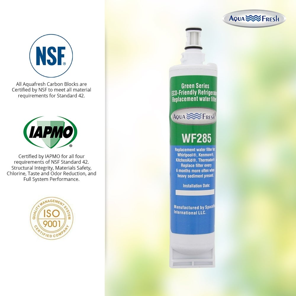 2 Pack Fits Whirlpool 4396509 Refrigerators Aqua Fresh Water Filter