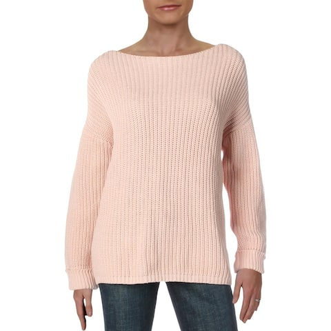Catherine Malandrino Womens Pullover Sweater Chunky Cuffed - L