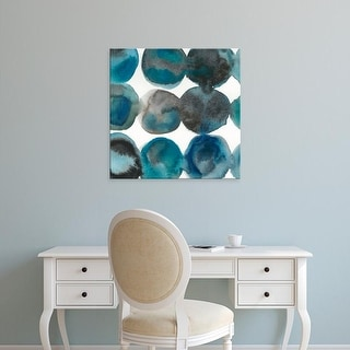 Easy Art Prints Chariklia Zarris's 'La Mer III' Premium Canvas Art