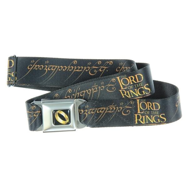 Lord of the Rings Elvish Seatbelt Belt-Holds Pants Up