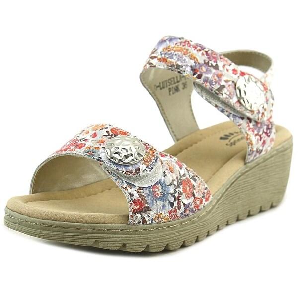 Spring Step Luisella Women Open-Toe Leather Multi Color Slingback Sandal
