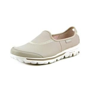 Skechers Go Walk-Undercover Women Round Toe Leather Walking Shoe