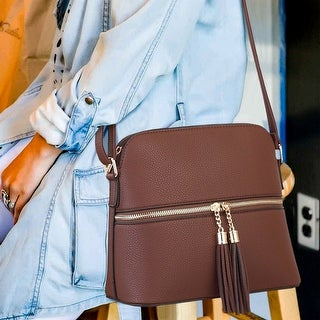 Link to Dasein Women Fashion Crossbody Bag with Tassel Similar Items in Shop By Style