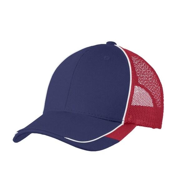 Shop Top Headwear Colorblock Mesh Back Cap - Free Shipping On Orders ... 048eb3394827