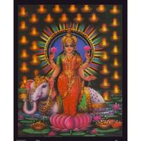 ''Lakshmi (Standing)'' by Anon Religious Art Print (20 x 16 in.)