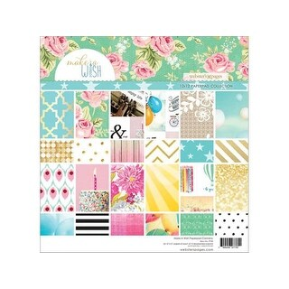 Webster's Pgs Make A Wish Paper Pad 12x12