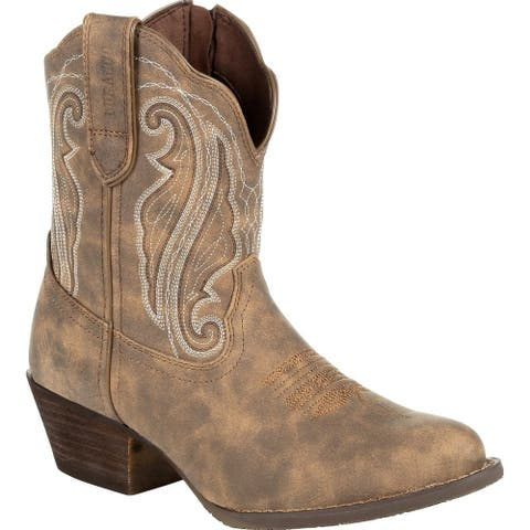 #DRD0372, Crush by Durango® Women's Distressed Shortie Western Boot