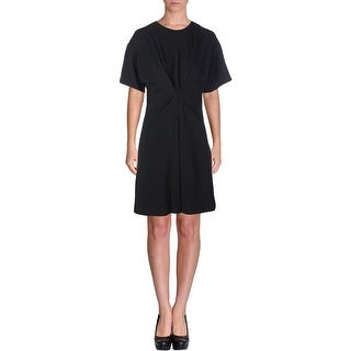 Marc by Marc Jacobs Womens Textured Pleated Wear to Work Dress