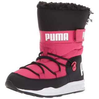PUMA Boys trinomic Ankle Pull On Snow Boots
