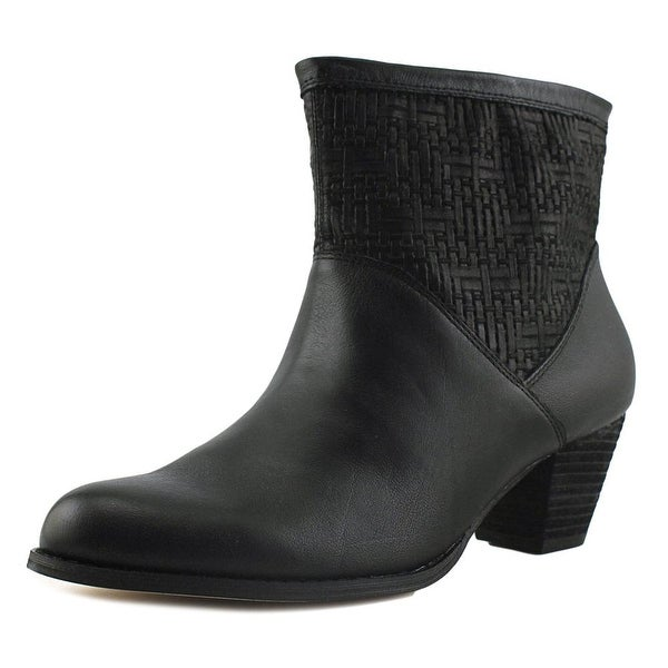 Corso Como Beauty Women Round Toe Leather Ankle Boot