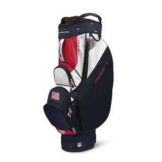 Sun Mountain 2017 Sync (No Logo) Cart Bag - Navy / White / Red - CLOSEOUT - navy / white / red