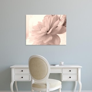 Easy Art Prints Judy Stalus's 'Pink Dahlia 1' Premium Canvas Art