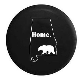 Spare Tire Cover Alabama Bear Home State Edition