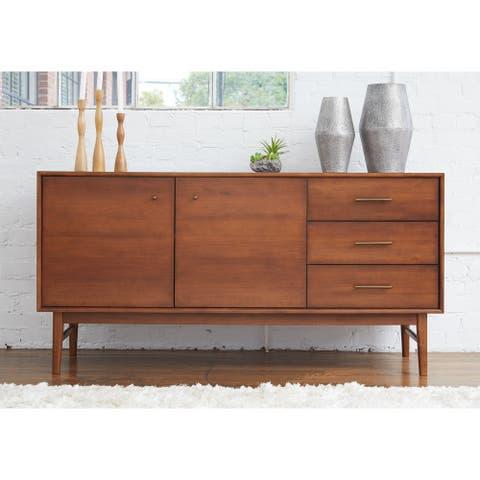 Rye Studio Buralda Walnut 3-drawer Sideboard