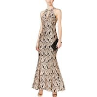 NW Nightway Womens Petites Evening Dress Special Occasion Lace