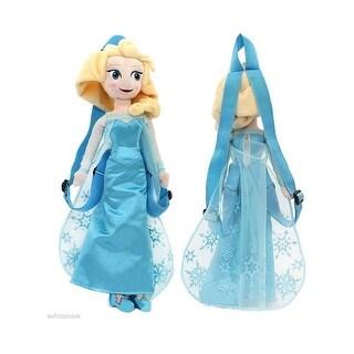 """Frozen 14"""" Plush Backpack- Elsa"""