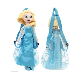 "Frozen 14"" Plush Backpack- Elsa