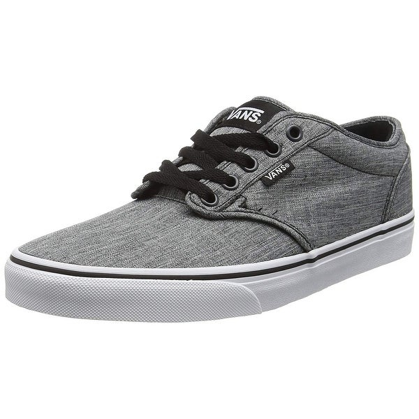 7e434c7268da71 Shop Vans Mens M Atwood Rock Shoes Textile Black White Size 8.5 ...