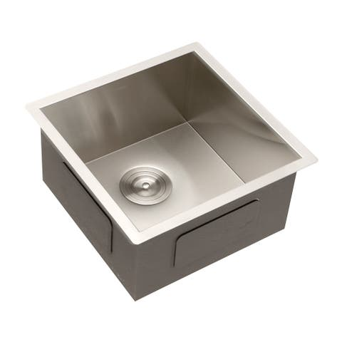 Sink Undermount Square 18 Gauge Stainless Steel Kitchen Sink