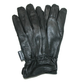 Dorfman Pacific Women's Lambskin Leather Driving Gloves with Thinsulate