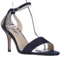 Nina Venetia Ankle Strap Dress Sandals, New Navy