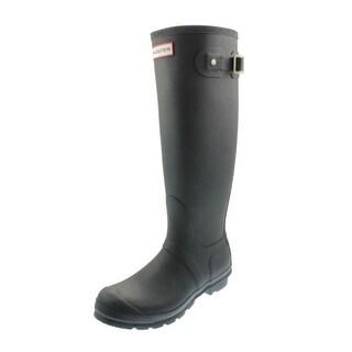 Hunter Womens Original Tall Rubber Knee-High Rain Boots - 4 medium (b,m)