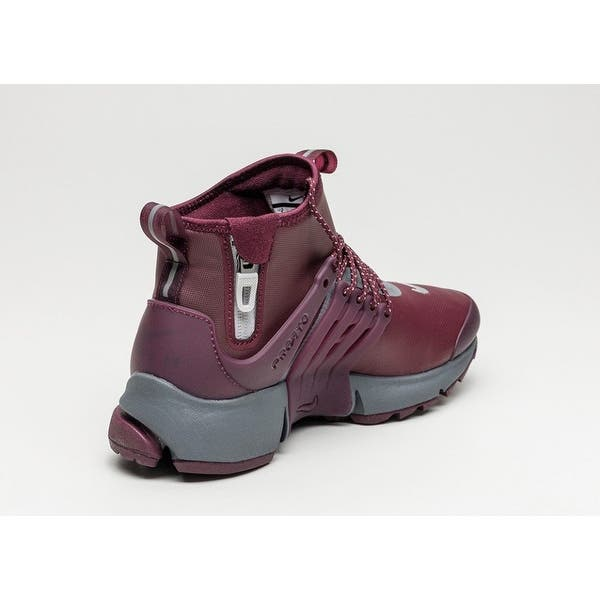 competitive price 82ddd 7d22b Shop Nike Womens Air Presto Mid Utility Hight Top Lace Up ...