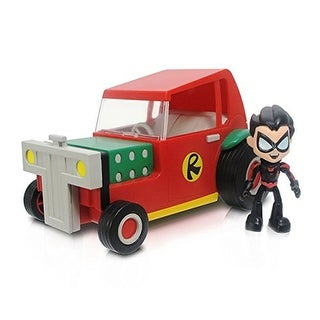 """DC Comics Teen Titans Go! 3"""" Action Figure: Robin With Vehicle"""
