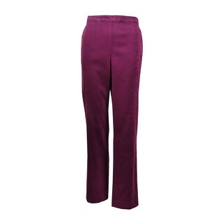 Alfred Dunner Women's Stretch Calabria Proportioned Medium Pants