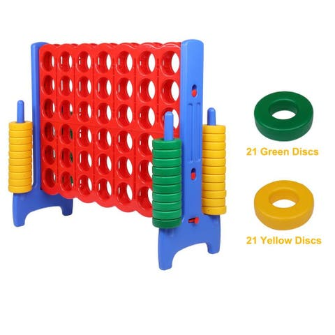 4-to-Score Giant Game Set, with 42 Jumbo Rings