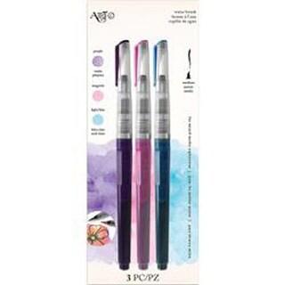 Purple; Magenta; & Light Blue - Art-C Pre-Filled Waterbrushes 3/Pkg
