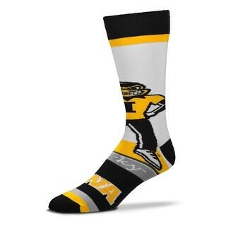 Iowa Hawkeyes Mascot Socks