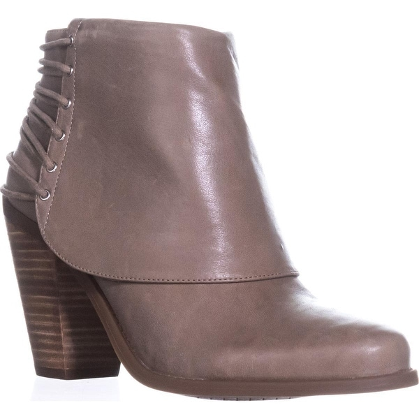 Jessica Simpson Caysy Back Strapped Ankle Boots, Slater Taupe - 8.5 us / 38.5 eu
