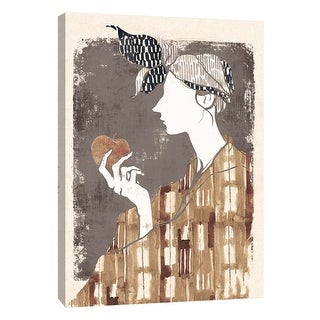 "PTM Images 9-105849  PTM Canvas Collection 10"" x 8"" - ""Broadcloth 1"" Giclee Women Art Print on Canvas"