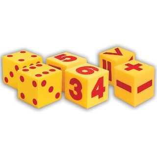 Giant Soft Cube Set 6/Pk 1 Each