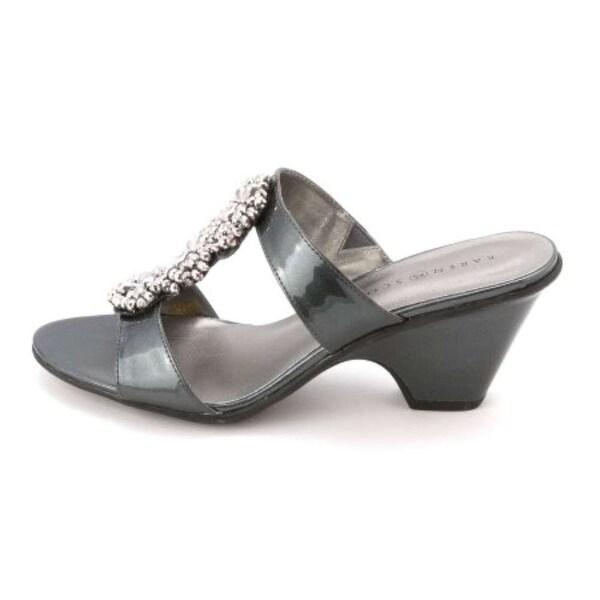 Karen Scott Womens KORAA Open Toe Casual Slide Sandals