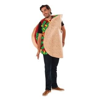 Adult Fiesta Taco Halloween Costume - standard - one size
