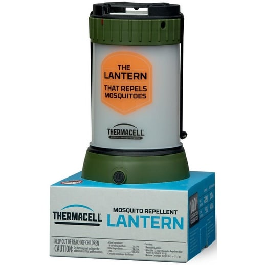 ThermaCELL Mosquito Repellent Pest Control Outdoor and Camping Lantern (Green) - MR-CLC