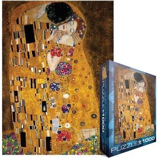 "Jigsaw Puzzle 1000 Pieces 19.25""X26.5""-Klimt - The Kiss (der Kuss)"