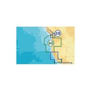 Lowrance MSD/643PP Platinum Plus Oregon and California