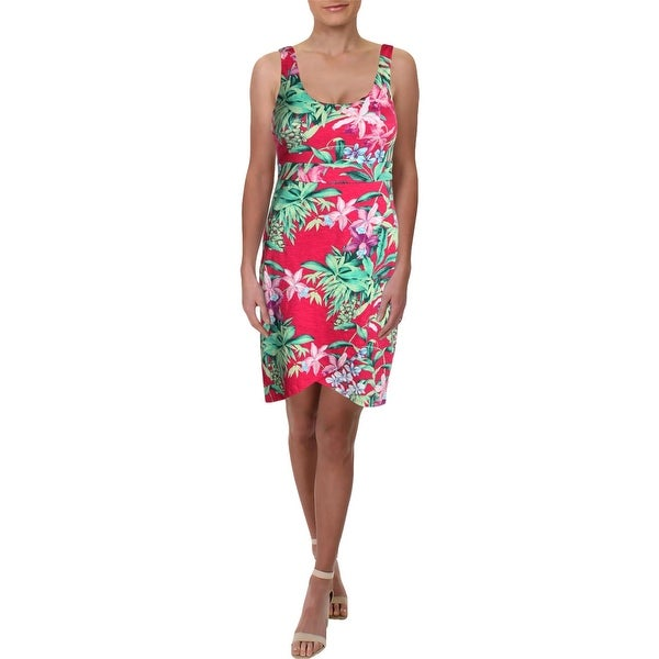 4a59a81857 Shop Tommy Bahama Womens Casual Dress Above Knee Floral Print - Free ...
