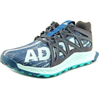 Adidas Vigor Bounce Round Toe Synthetic Running Shoe