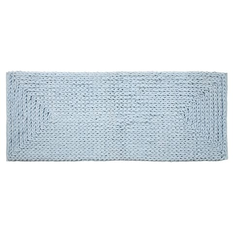 Extra Strong and Durable Braided Chenille Bath Rug (22 in x 60 in)